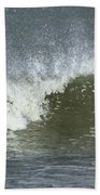 Wave Study Beach Towel