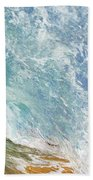 Wave Tube Along Shore Beach Towel
