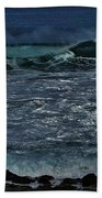 Waves And Wind Beach Towel