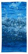 Waves Beach Towel