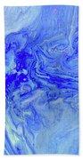 Waves Of Blue Beach Towel