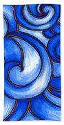 Waves Of Mercy Beach Towel