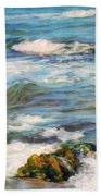Sea Waves ...  Beach Towel