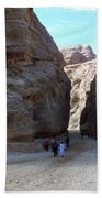 Way To Petra Beach Towel