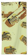 Wayback England Beach Towel