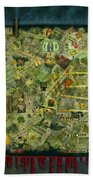 We Don't See The Whole Picture Beach Towel by James W Johnson