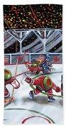 We Olive Hockey Beach Sheet