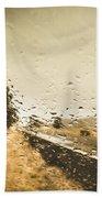 Weather Roads Beach Towel