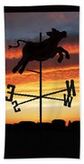 Weather Vane  Beach Towel