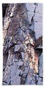 Weathered Rock Beach Towel