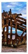 Weathered Shipwreck Beach Sheet