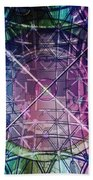 Web Matrix Beach Towel
