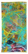 Web Of The Spider Beach Towel
