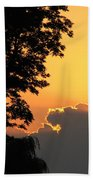 Webster Ny Sunset Beach Towel