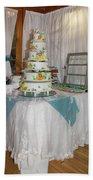Wedding Cake Beach Towel