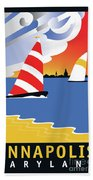 Wednesday Afternoon Beach Towel