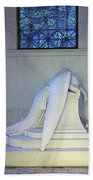 Weeping Angel Beach Towel