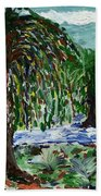 Weeping Tree Beach Towel