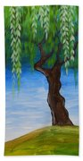 Weeping Willows Beach Towel