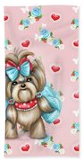 Welcome Spring Beach Towel by Catia Lee