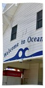 Welcome To Ocean City Maryland Beach Towel