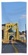 Welcome To Pittsburgh Pa Beach Towel