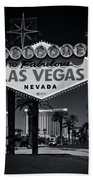 Welcome To Vegas Xi Beach Towel