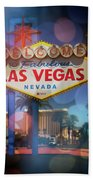 Welcome To Vegas Xii Beach Towel
