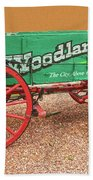 Woodland Park, Colorado, The City Above The Clouds, Elevation 8500 Feet, 2590 Meters Above Sea Level Beach Towel