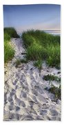 Wellfleet Beach Path Beach Towel