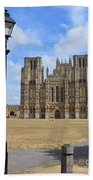 Wells Cathedral Beach Towel