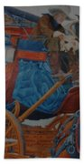 Wells Fargo Stagecoach Beach Towel