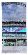 Wembley Stadium Wembley Way Beach Towel