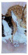Wendy And Bobby  Beach Towel