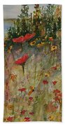 Wendy's Wildflowers Beach Towel
