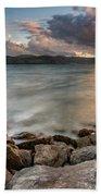 West Shore Sunset Beach Towel