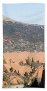 West Springs And Distant Garden Of The Gods Beach Towel