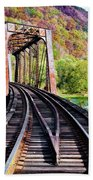 West Virginia Trestle Beach Towel