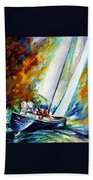 West Wind Beach Towel