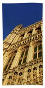 Westminster Palace, London Beach Towel