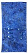 WET Beach Towel by James W Johnson