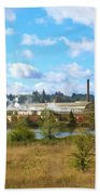 Weyerhaeuser Lumber Mill Beach Towel