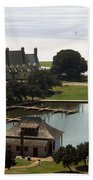Whalehead Club And Boathouse Beach Towel