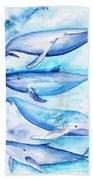 Whales Beach Towel