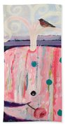 Whale's Tale The Beginning Of The End Beach Towel