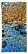 What Streams Are Made Of Beach Towel by Lisa Wooten