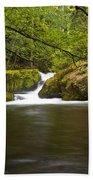 Whatcom Creek Gorge Beach Towel