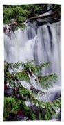 Whatcom Falls Cascade Beach Towel
