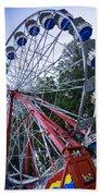Wheel At The Fair Beach Towel