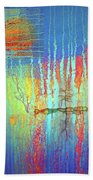Where Have All The Trees Gone? Beach Towel